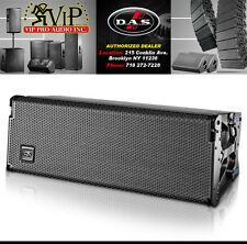 "DAS Audio Event 208A Dual 8"" 3way Powered Line Array Speaker Pro Audio DJ System"