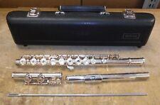 Yamaha 285SII Open Hole Intermediate Flute Made in Japan in Original Case *ndr07