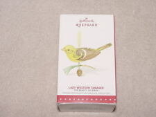 NIB 2015 Hallmark Keepsake Ornament Beauty of the Birds - Lady Western Tanager