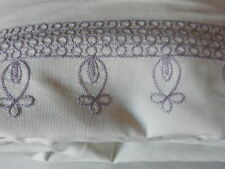 Pottery Barn Kids Embroidered Blackout Drape Panels 44x96 Lavender
