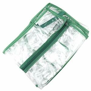 VKTY 3-Tier Plant Greenhouse Cover Clear Plastic Mini Greenhouse Replacement
