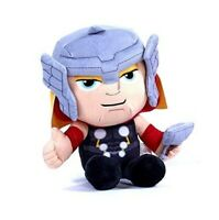 "OFFICIAL MARVEL COMICS THOR LARGE 12"" PLUSH SOFT TOY TEDDY NEW STYLE WITH TAGS"