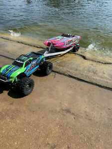 RC Boat Trailer for Traxxas M41 or Spartan