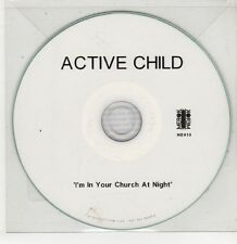 (GU189) Active Child, I'm In Your Church At Night - 2010 DJ CD