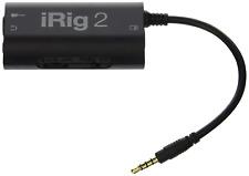 IK Multimedia iRig 2 Mobile Guitar Interface, Black
