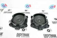 BMW X5 E70 X6 E71 2007-2013 Set Of Central Subwoofer Bass Speakers