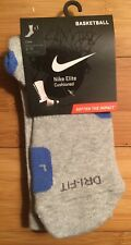 Nike Elite Basketball crew socks 8-12 Large Jordan Yeezy KD LeBron Kobe NBA Rare