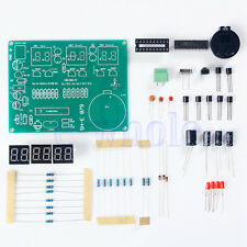 DIY Kit Module AT89C2051 6 Digital LED Electronic Clock Parts 90MM*70MM EW