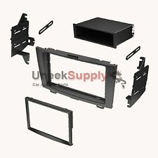 Single Double DIN Installation Stereo Radio Dash Kit for 2007-2011 Honda CRV
