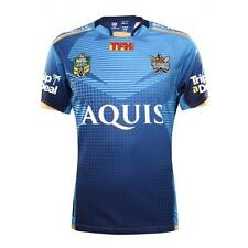 Gold Coast Titans 2017 NRL BLK Home Jersey Toddlers Sizes 0,2,04!