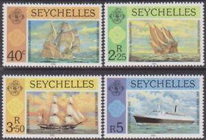SET Seychelles 1981 Ships 40c-5r MNH Stamps SG495/498