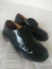 Dr Martens Black Leather Ladies Shoes, Size UK4, EU37