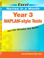 Excel Naplan - Style Tests Year 3 Revise in a Month - New Edition