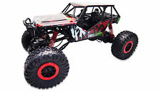 RC Auto Crazy Red 4WD Allrad RTR 1:10 Rock Crawler Monster Truck Offroad 2.4GHz