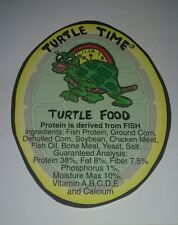 Aquatic Turtle Food 4 Pounds Floating 38% Protein Bulk package. Free shipping !