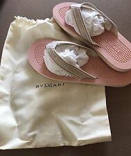 Bvlgari Men's Thong Flip Flop Sandals Size Size 43
