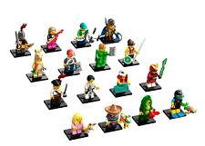 LEGO 71027 Minifigures Serie 20 - Komplettsatz mit allen 16 Figuren CMF Komplett