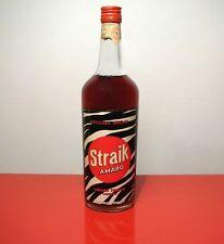 BOTTIGLIA AMARO STRAIK Distillerie Angelini Trani  ANGELINI FARMACEUTICI ANCONA