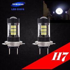 H7 Samsung LED Chip 57 SMD Xenon White 6000K Lamp Light Bulb For HONDA Bike