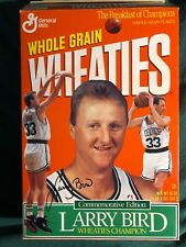 A tribute to Larry Bird 1993 Commemorative Edition Wheaties Box, INTACT, coupon
