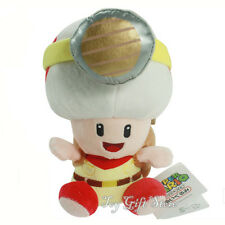 """Treasure Tracker Captain Toad SITTING 7.5"""" Plush Doll Toy #SM"""