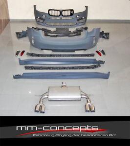 Bodykit für BMW X6 F16 X6M M Stoßstange Front Heck Auspuff Leisten Performance