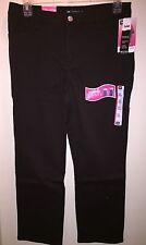 "LEE Petite Women's MONROE Classic Fit Straight-Leg Jeans""DEEP CHOCOLATE""12S PET"