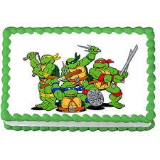 "TEENAGE MUTANT NINJA Turtles Edible image Cake topper decoration-7.5""x10"""