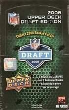 2008 Upper Deck Draft Edition Football Sealed Hobby Box - 5 Auto RCs per Box