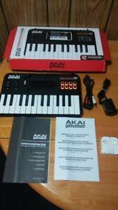 Akai SynthStation 25 iPad MIDI Keyboard Controller untested