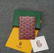 Maison Goyard Wallet Red Long Fashion Wallet