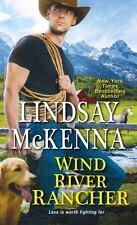 Wind River Rancher, McKenna, Lindsay, Good Condition, Book