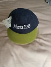 Vintage adidas Atlanta 1996 Olympic Cap With Short Peak Deadstock Original NOS