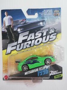 Hot Wheels Mattel Fast and Furious 1/55 Mitsubishi Eclipse NEW HTF 12/32