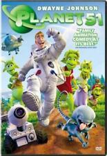 Planet 51 (DVD, 2010) Astronaut Outer Space Alien Martian Kids Cartoon Movie