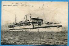 CPA PHOTO: Navire Hôpital SPHINX / Guerre 14-18 / 1917