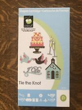 NIB! Circut Tie the Knot Wedding Shapes Cartridge Overlay & Booklet Complete Set
