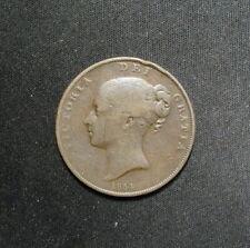 New listing Uk Victoria 1854 Penny