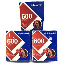 Polaroid 600 High Speed Color Film Expired 02/2009 Instant Camera 50 Print Total