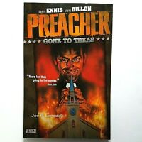 PREACHER Vol 1 Gone to Texas (TPB, 2005) Garth Ennis, S. Dillon  FREE SHIPPING