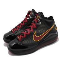 Nike Lebron VII QS 7 Fairfax 2020 Black Red Mens Basketball Shoes CU5646-001