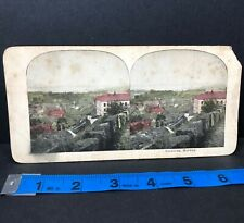 Vintage Tonsberg Norway Stereoview Stereograph