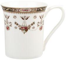 Queens Classic Olde England Royale Shaped Fine Bone China Coffee Tea Mug White