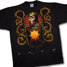 Death Crest, Brom Art of a Crest with a Skull T-Shirt, NEW UNWORN