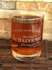 THE BALVENIE Collectible Whiskey Glass 8 Oz