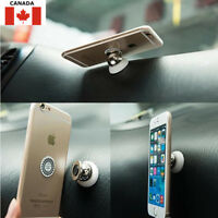 Magnetic Car Cell Phone Holder Mount Dash 360° Rotates for iPhone, Samsung, LG..