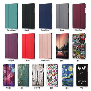 For Samsung Galaxy Tab A7 10.4 2020 T500/505 Smart Sleep Wake Leather Case Cover