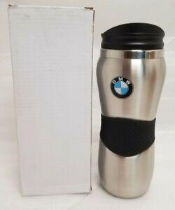 NEW Genuine BMW Travel Mug Stainless 80900439610