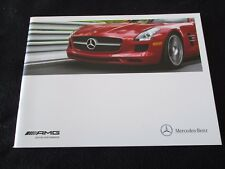 2012 Mercedes AMG Brochure SLS AMG C63 Black CL63 S63 65 E63 SLK55 Sales Catalog