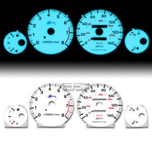 Fit 95-99 Nissan Maxima V6 3.0 Vq30 A32 Indiglo Glow Gauge Dash Face El Cluster
